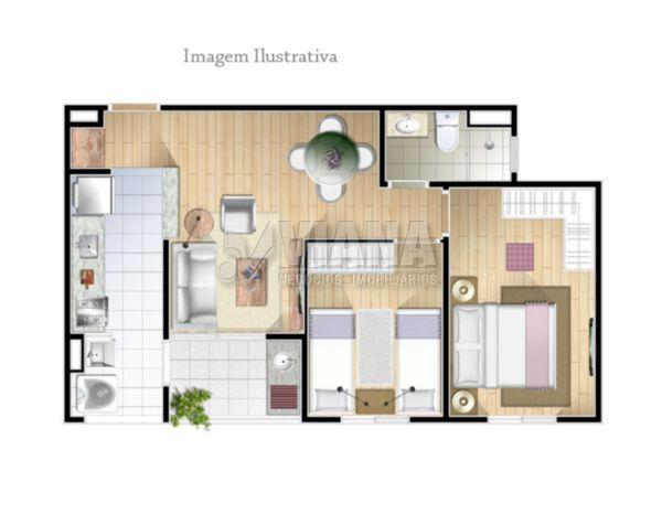 Conquista Alda de 02 dormitórios em Centro, Diadema - SP