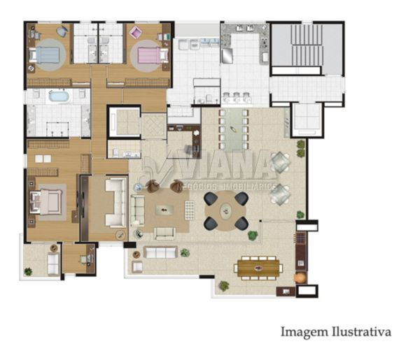 Coberturas de 4 dormitórios à venda em Centro, São Caetano Do Sul - SP