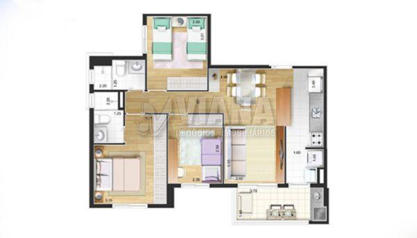 Apartamentos de 2 dormitórios à venda em Campestre, Santo André - SP