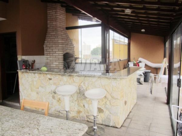Coberturas de 3 dormitórios à venda em Vila Metalúrgica, Santo André - SP