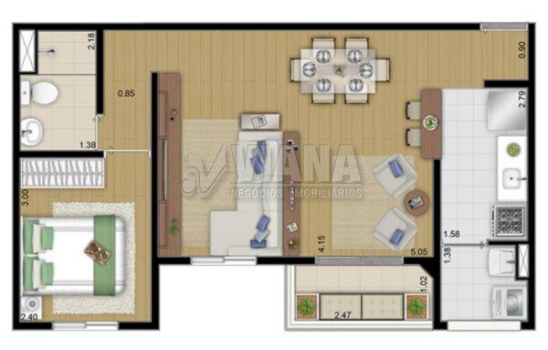 Cenário Duo de 02 dormitórios em Camilópolis, Santo André - SP