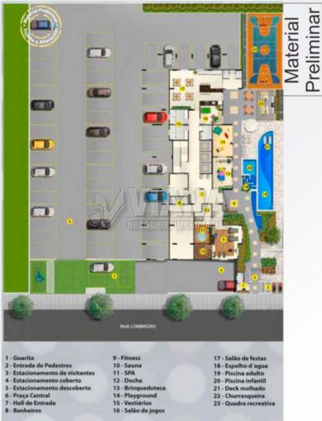 Impactus Mbigucci de 02 dormitórios em Parque Jaçatuba, Santo André - SP