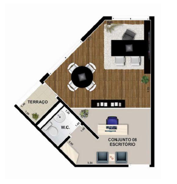 Salas/conjuntos em Rudge Ramos, São Bernardo Do Campo - SP