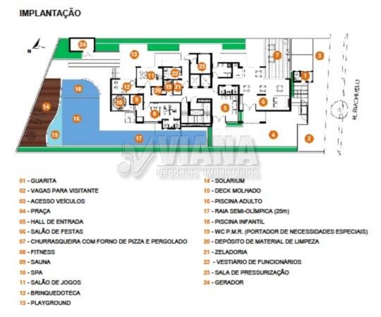 Central Park Assun de 02 dormitórios em Vila Assunção, Santo André - SP