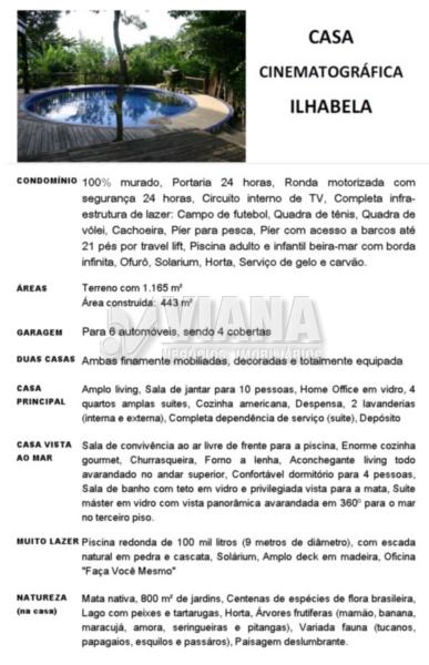 Sobrado de 7 dormitórios em Centro, Ilhabela - SP