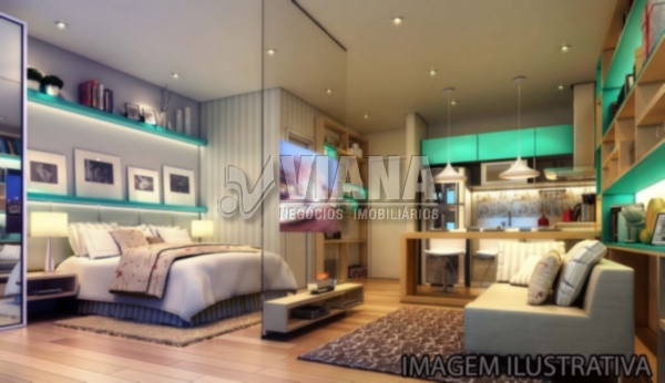 Apartamentos de 1 dormitório à venda em Nova Gerty, São Caetano Do Sul - SP