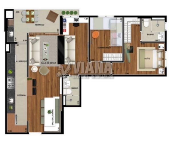 Apartamentos de 2 dormitórios à venda em Santa Paula, São Caetano Do Sul - SP
