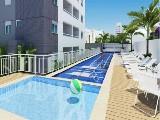 Perspectiva artística piscina