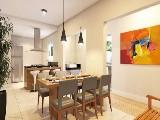 Perspectiva artística sala de jantar