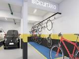 Perspectiva artistica Bicicletário