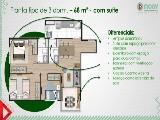 Planta 3 dormitorios