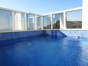 Venda Cobertura no Barra Sul Edifício Ibiza Towers Frente Mar Cobertura, Balneário Camboriú com 6 dorms, 475 m2 - Cod:829