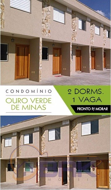 Casa Em Condominio de 2 dormitórios à venda em Jardim Imperador (Zona Leste), São Paulo - SP