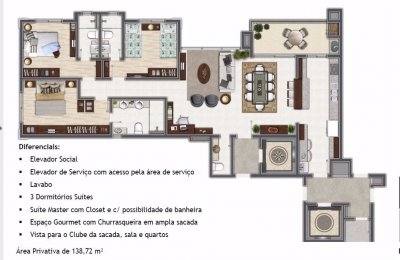 Apartamento venda em S�o Leopoldo no bairro Morro do Espelho