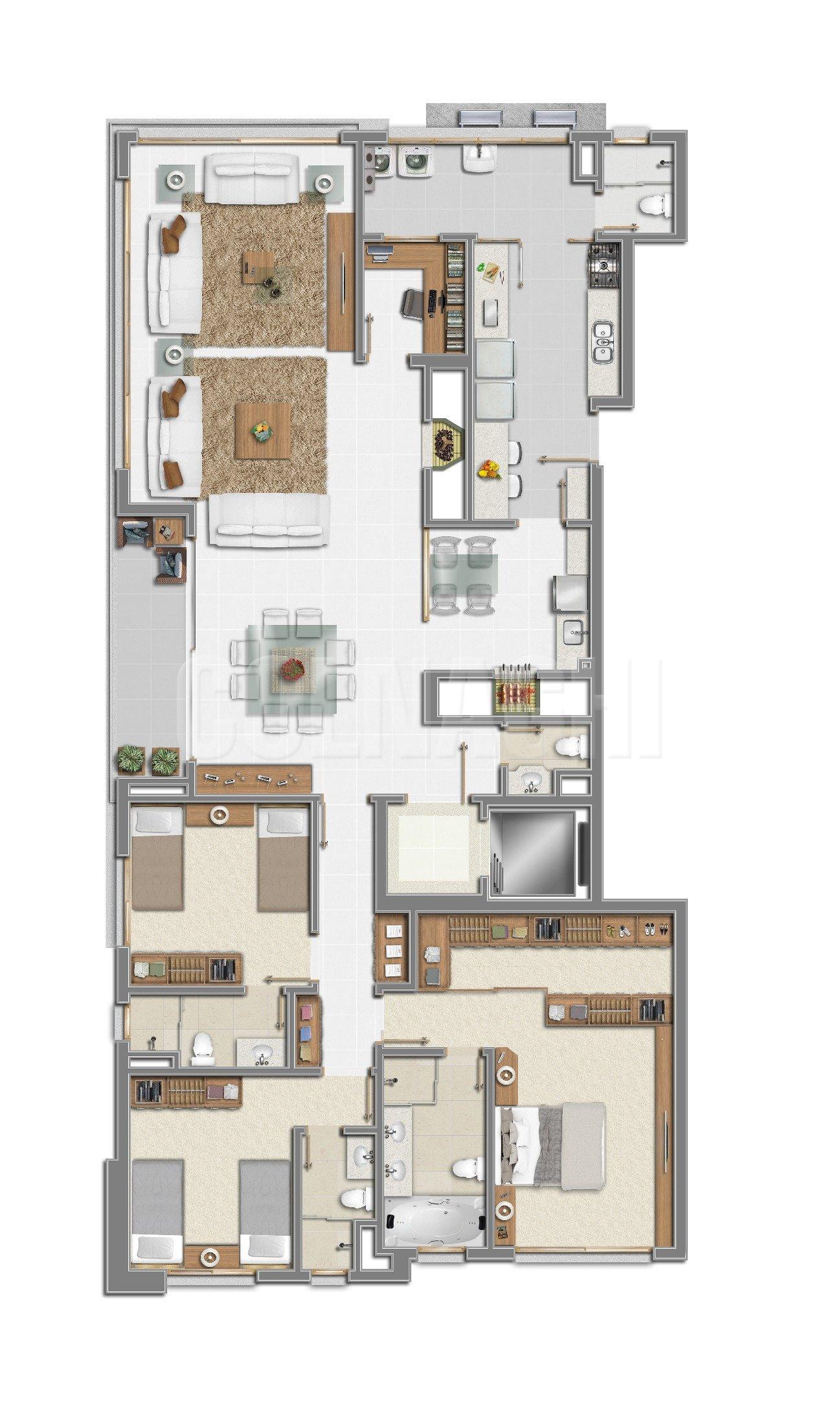 Arllington de 3 dormitórios em Petropolis, Porto Alegre - RS