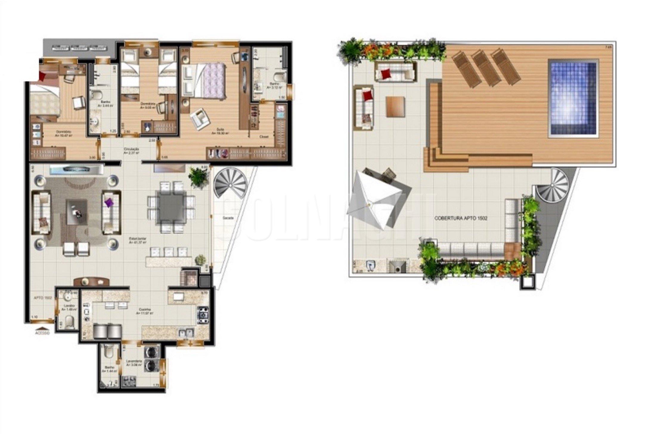 Villa Dei Fiori Residencial de 3 dormitórios em Auxiliadora, Porto Alegre - RS