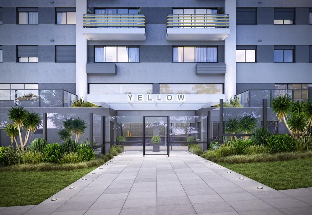 Yellow Residence de 2 dormitórios em Jardim Botânico, Porto Alegre - RS