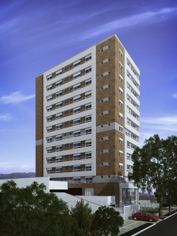 Residencial Lageado 1173 de 3 dormitórios em Petrópolis, Porto Alegre - RS