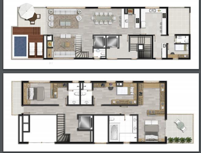 Pw56 de 3 dormitórios em Moinhos De Vento, Porto Alegre - RS