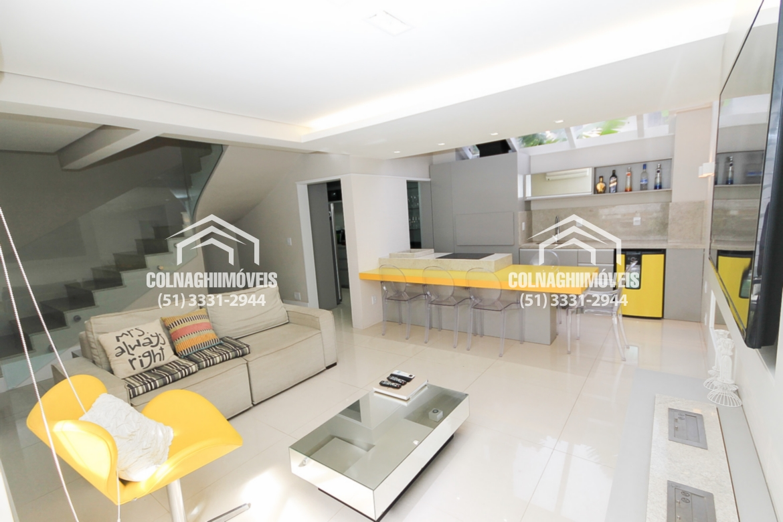 Residencial San Andrez - Casa 4 Dorm, Boa Vista, Porto Alegre (CL7620)