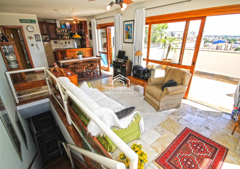 Coberturas de 2 dormitórios à venda em Floresta, Porto Alegre - RS