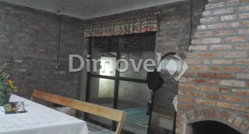 013 - Living com lareira casa dos fundos
