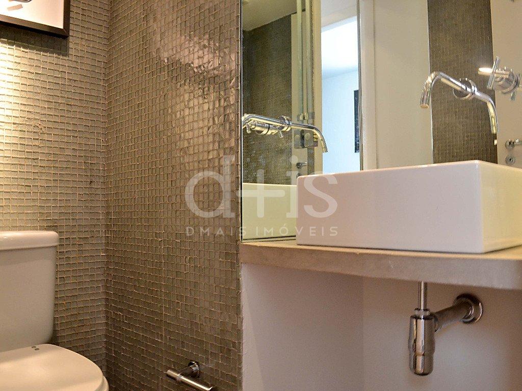 Banheiro de loft no Jardim América para alugar com 2 vagas