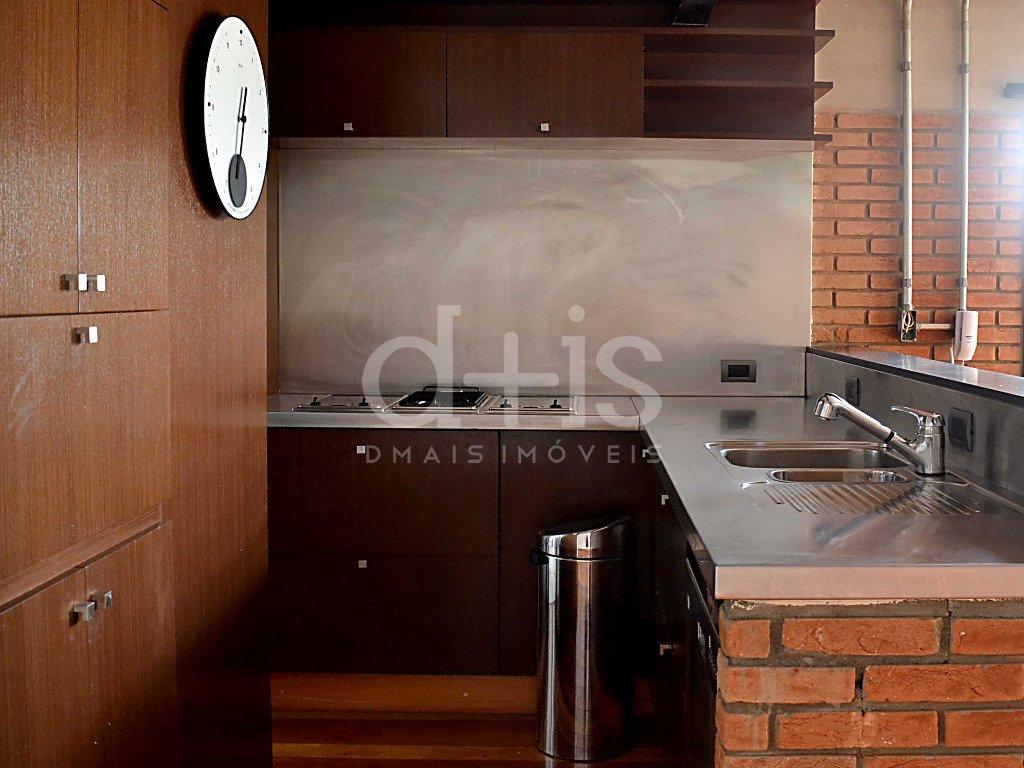 Cozinha de loft no Jardim América para alugar com 2 vagas
