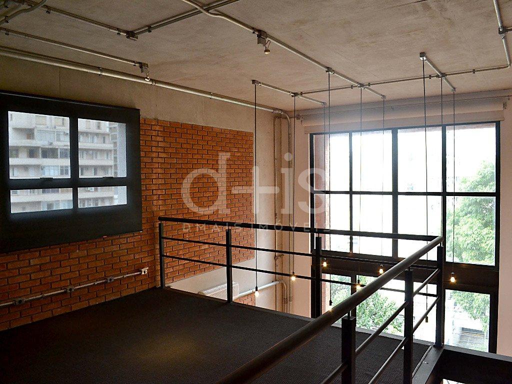 Dormitório de loft no Jardim América para alugar com 2 vagas
