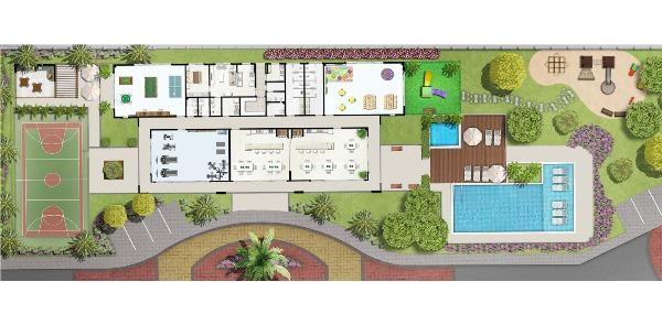 Vida Viva Clube Centro - Apto 2 Dorm, Centro, Canoas (102522) - Foto 15