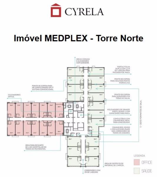 Medplex - Sala 99 Dorm, Santana, Porto Alegre (102751) - Foto 11