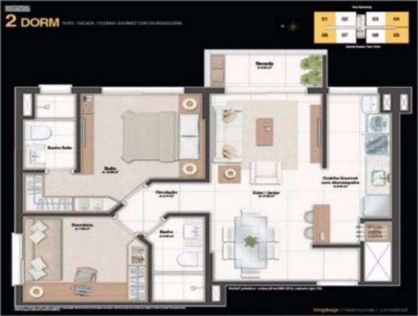 Neo 360 Living  (Residencial)  - Torre 1 - Apto 2 Dorm, Petrópolis - Foto 20