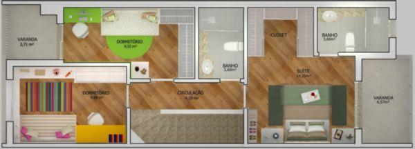 Moinhos de Ventos - Casa 3 Dorm, Moinhos de Vento, Canoas (105048) - Foto 5