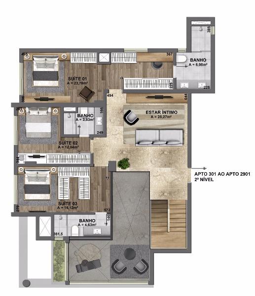 Esplêndido Residencial - Apto 3 Dorm, Mauá, Novo Hamburgo (106825) - Foto 34