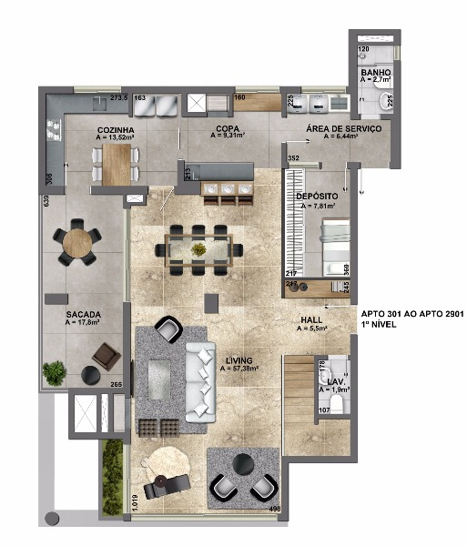 Esplendido Residencial - Apto 3 Dorm, Mauá, Novo Hamburgo (106844) - Foto 26