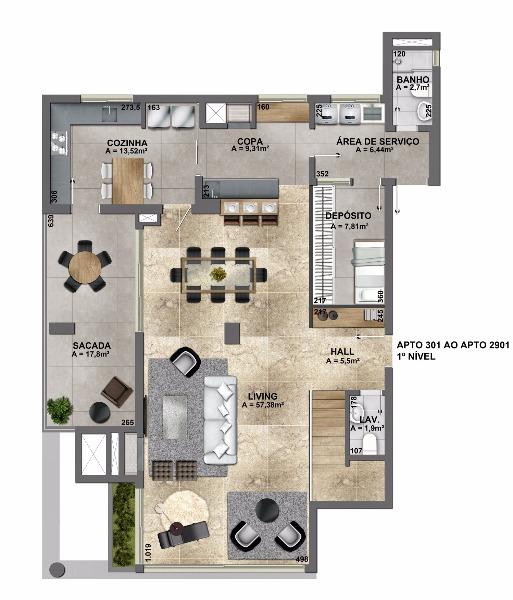Esplendido Residencial - Apto 3 Dorm, Mauá, Novo Hamburgo (106882) - Foto 26