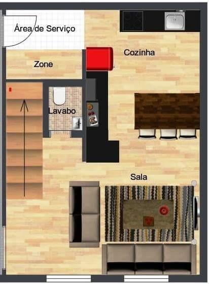 Niterói - Casa 3 Dorm, Niterói, Canoas (107384) - Foto 9