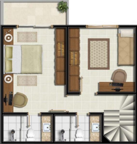 Residencial São Leopoldo - Casa 2 Dorm, Vila Jardim, Porto Alegre - Foto 4