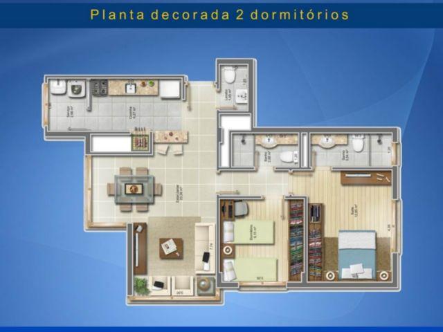 Residencial São Rafael - Apto 2 Dorm, Vila Ipiranga, Porto Alegre - Foto 3