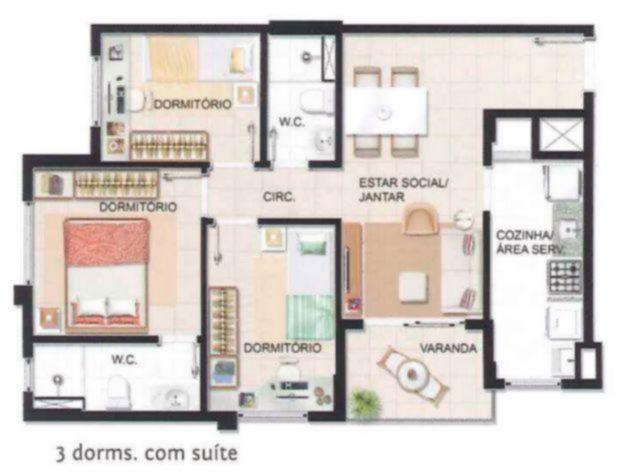 Cond. Residencial Liberdade - Apto 3 Dorm (52018) - Foto 16
