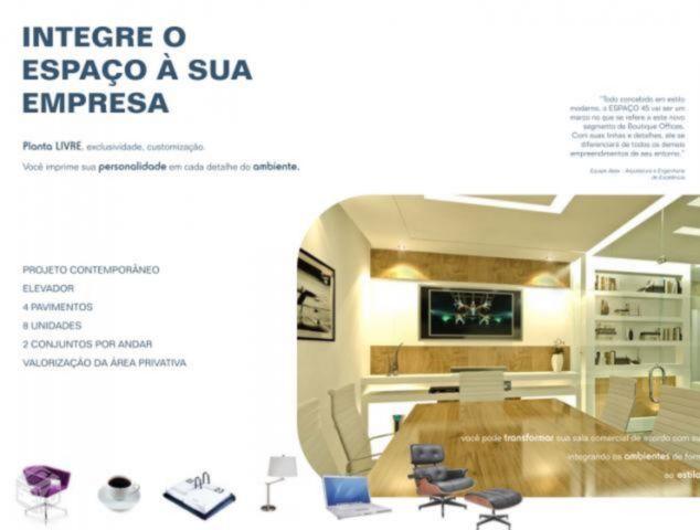 Espaço 45 - Sala 1 Dorm, Auxiliadora, Porto Alegre (52755) - Foto 5