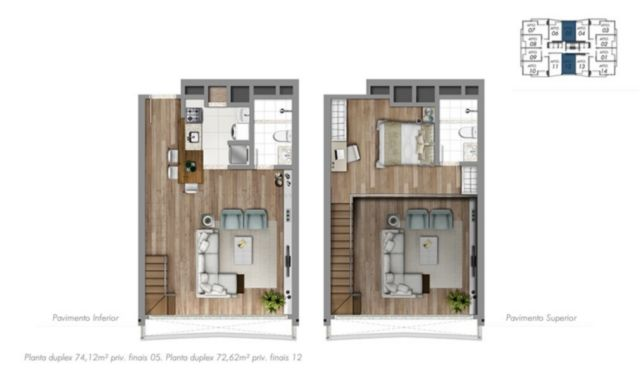 Trend Residence - Apto 1 Dorm, Petrópolis, Porto Alegre (56260) - Foto 12