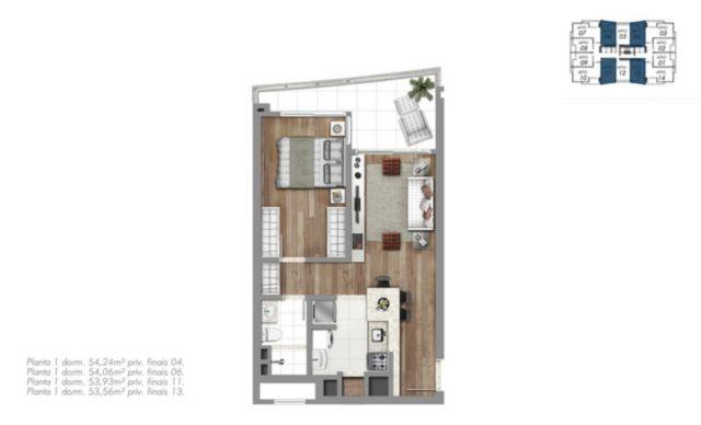 Trend Residence - Apto 1 Dorm, Petrópolis, Porto Alegre (56260) - Foto 7