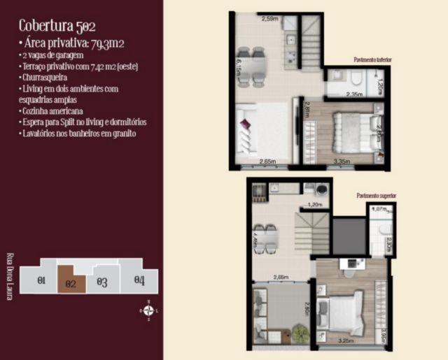 Lafite - Cobertura 1 Dorm, Rio Branco, Porto Alegre (56444) - Foto 2
