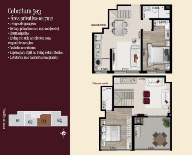 Lafite - Cobertura 1 Dorm, Rio Branco, Porto Alegre (56445) - Foto 2