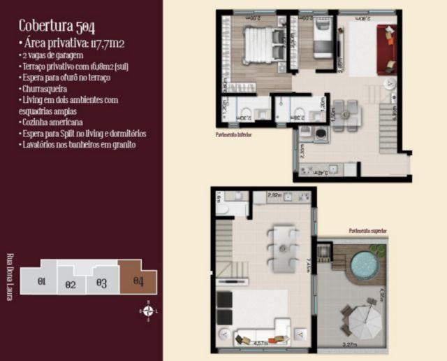Lafite - Cobertura 2 Dorm, Rio Branco, Porto Alegre (56446) - Foto 2