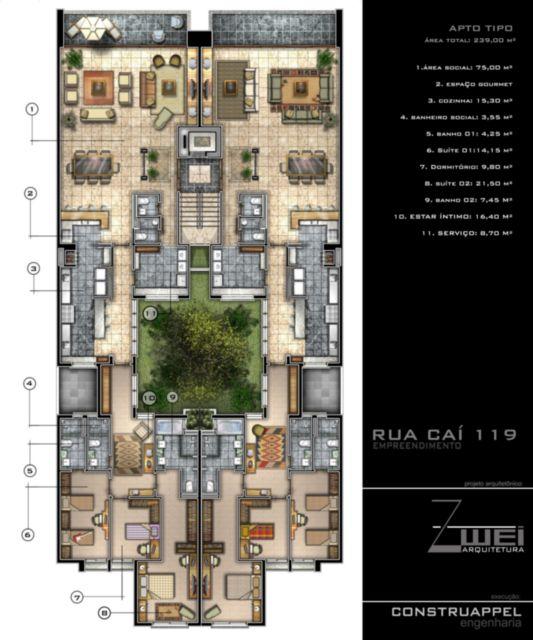 Edifício Derby - Apto 3 Dorm, Cristal, Porto Alegre (56693) - Foto 2
