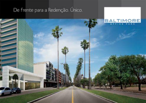 Baltimore Office Park - Sala 1 Dorm, Bom Fim, Porto Alegre (57296) - Foto 2