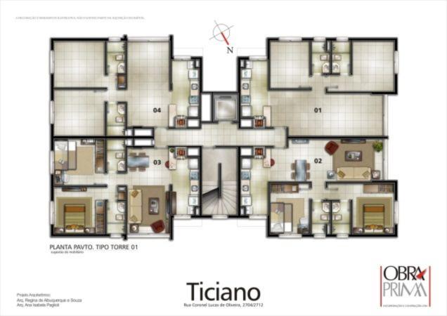 Ed. Residencial Ticiano - Apto 2 Dorm, Petrópolis, Porto Alegre - Foto 11