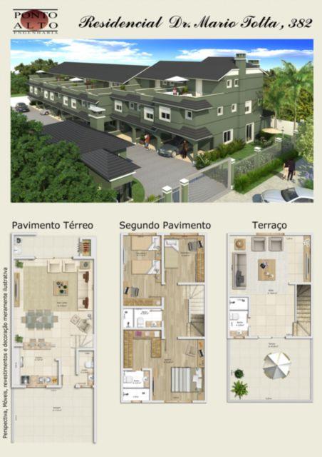 Condominio Residencial Dr.mário Totta 382 - Casa 3 Dorm, Tristeza - Foto 2
